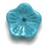 10mm Stoneflower Reconstructed Turquoise Blue Semi-Precious